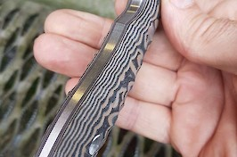 Stainthorp Knives Modified Evo model in CPM S30V and black/tan G10